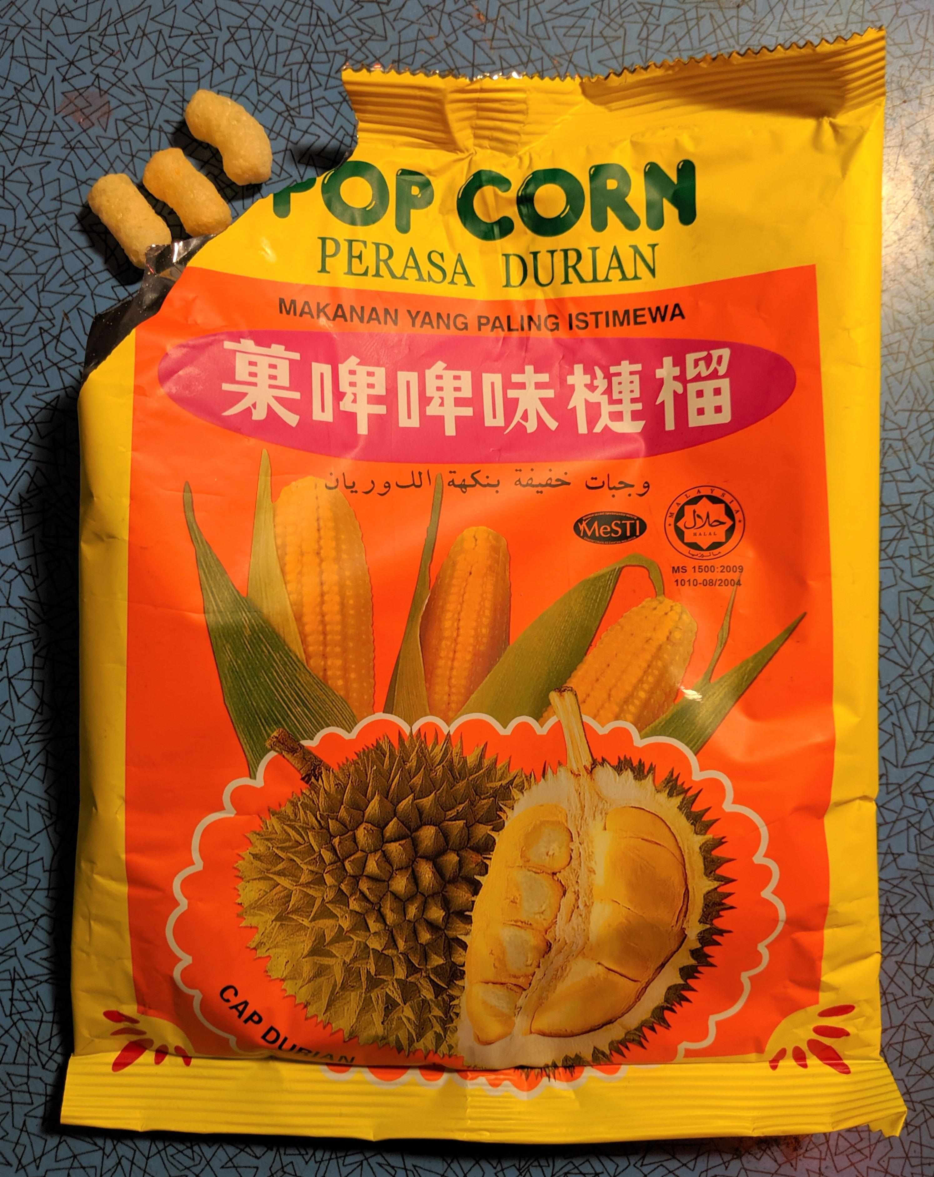 Durian Pop Corn