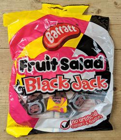 Fruit Salad & Black Jacks