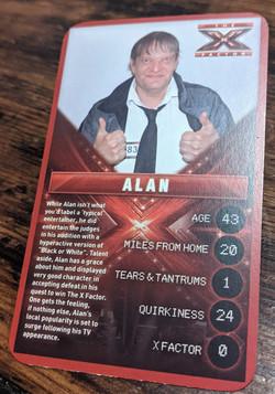 X Factor Alan
