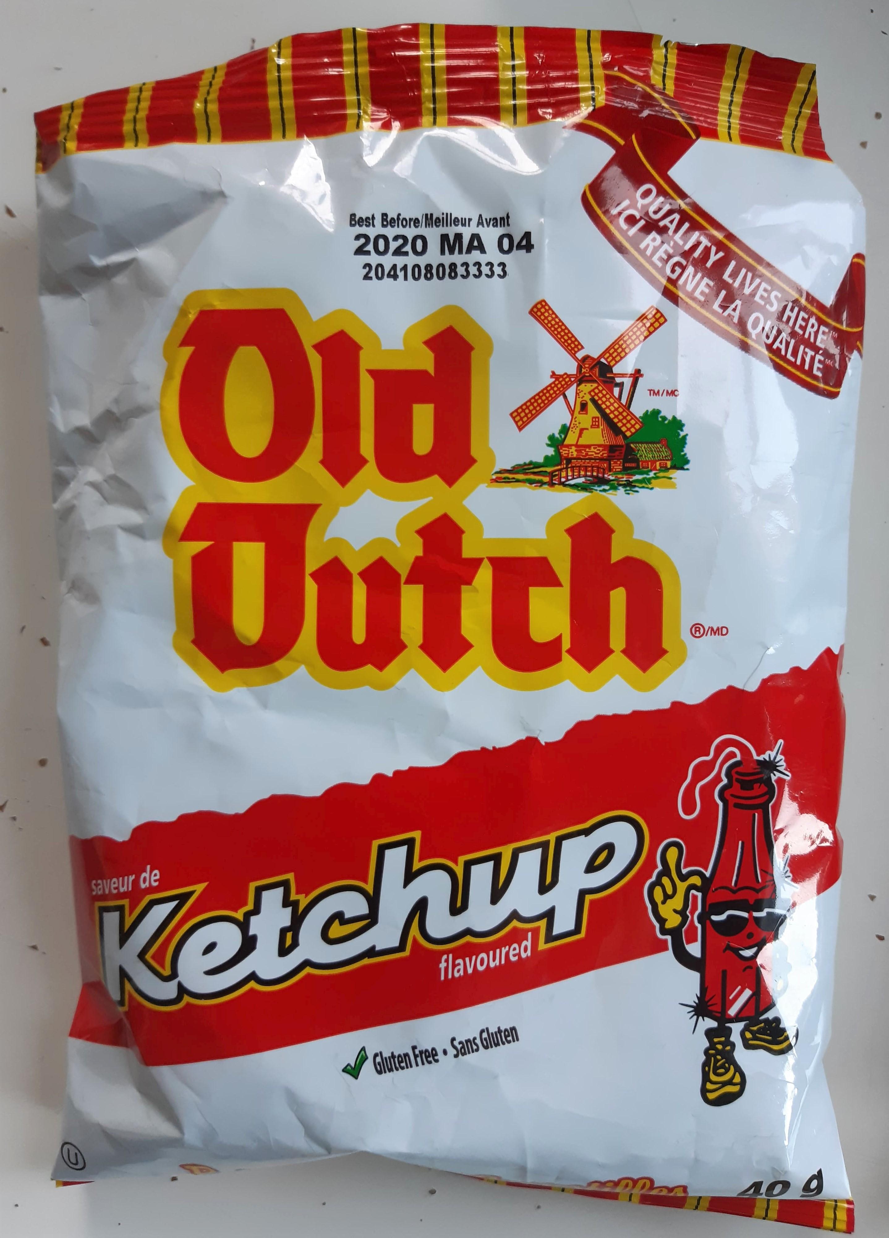 Old Dutch Ketchup Crisps