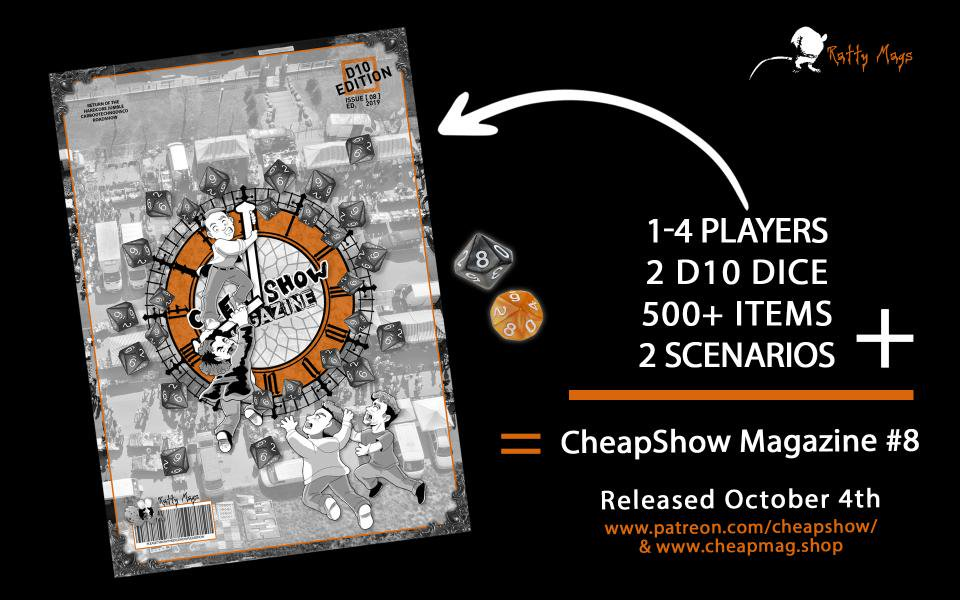 CheapShow Game Magazine