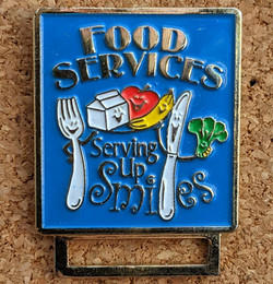 Food Services Pin