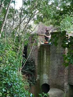 Gannon and the mucky bridge
