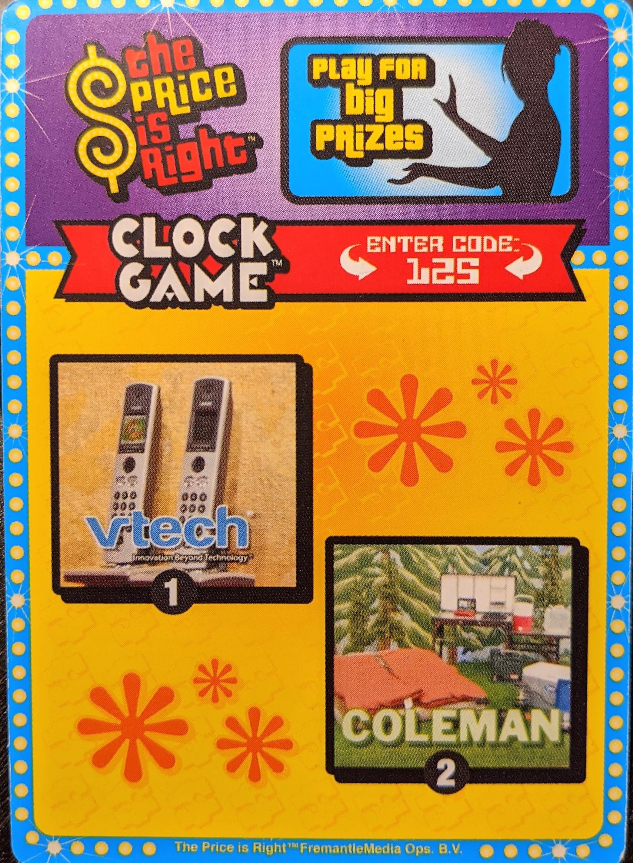 Clock Game