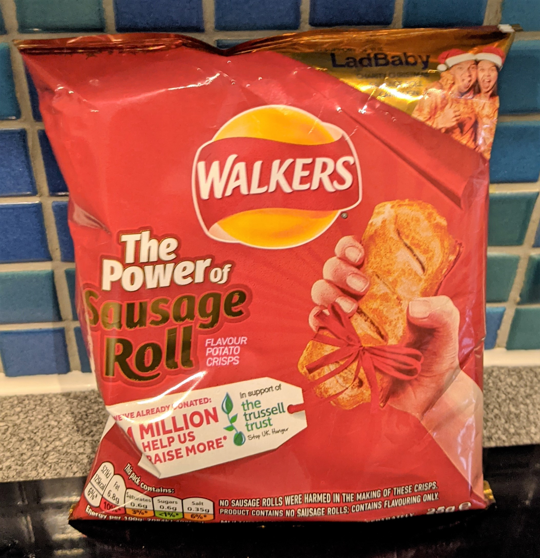Walkers Sausage Roll