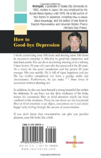 How To Good Bye Depression Back