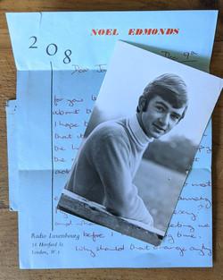 Noel's Blue Letter
