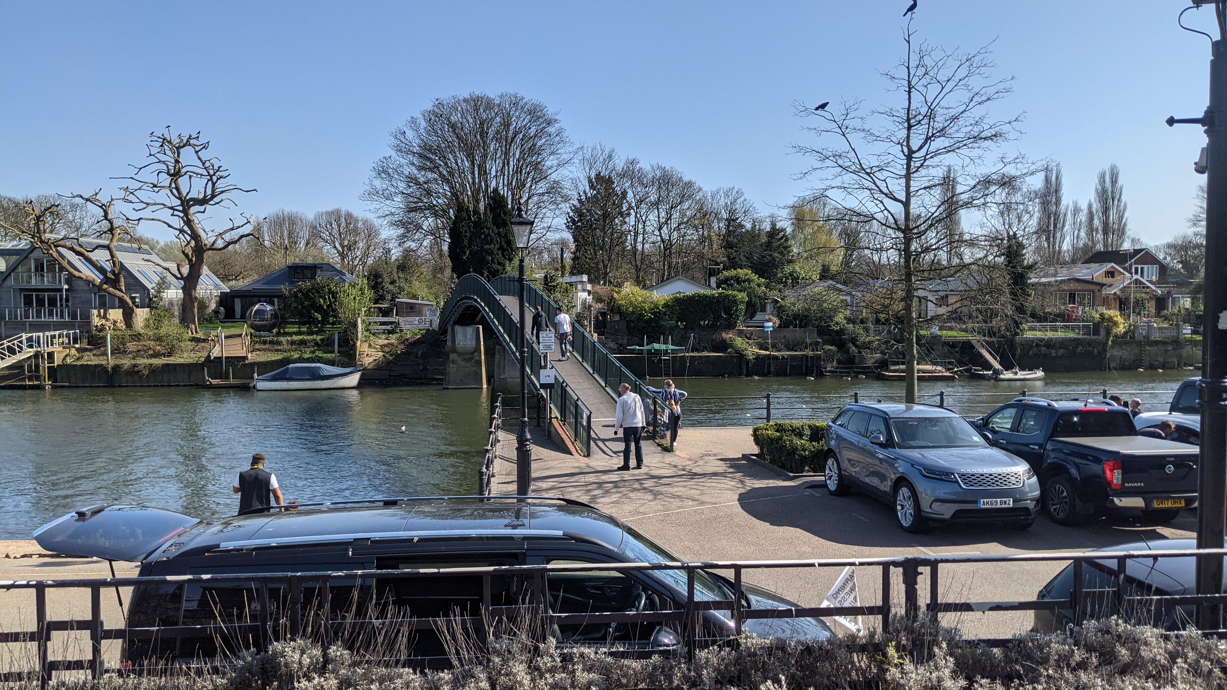 The Bridge to Eel Pie Island