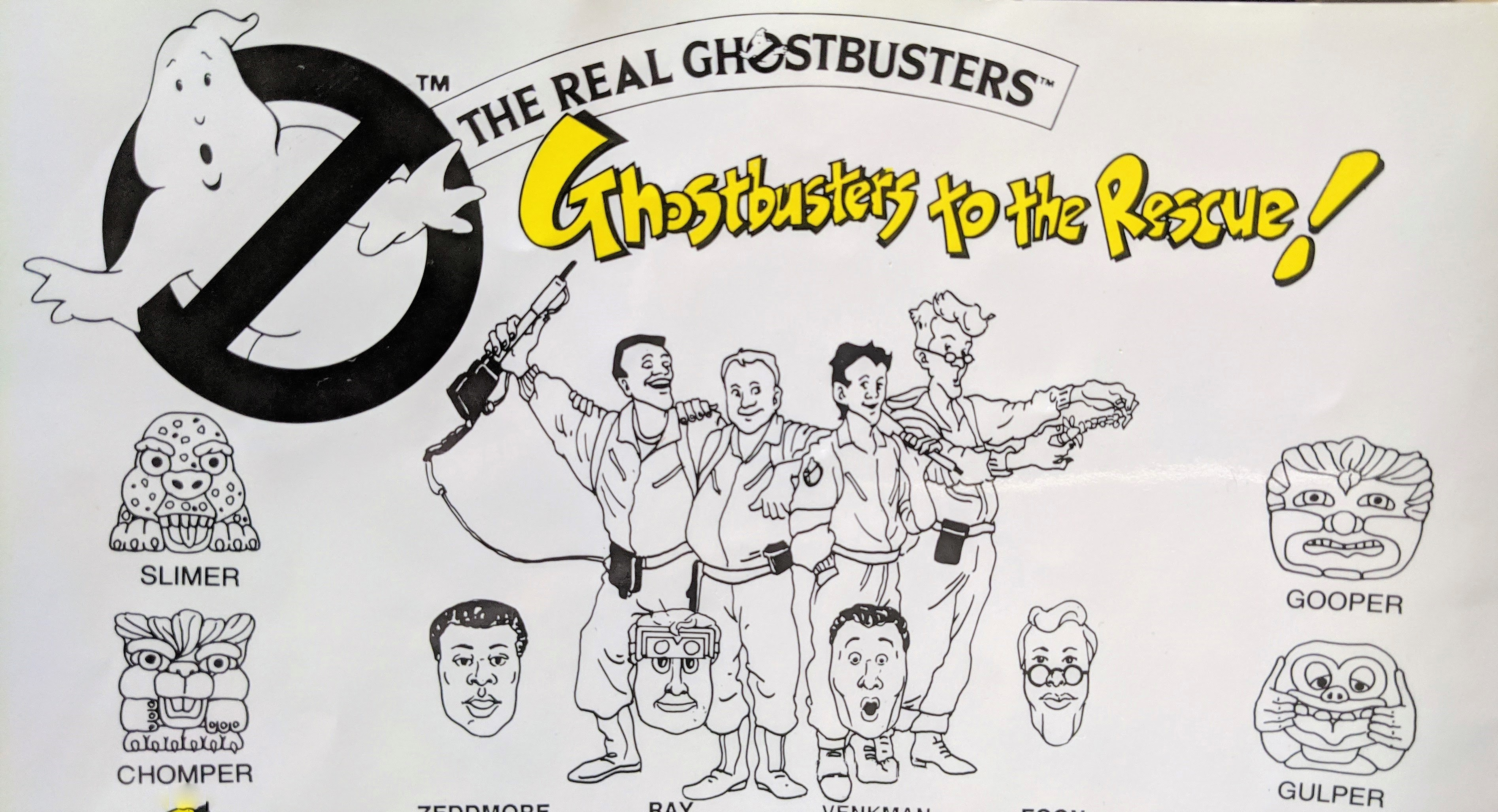 Ghostbusters Instructions