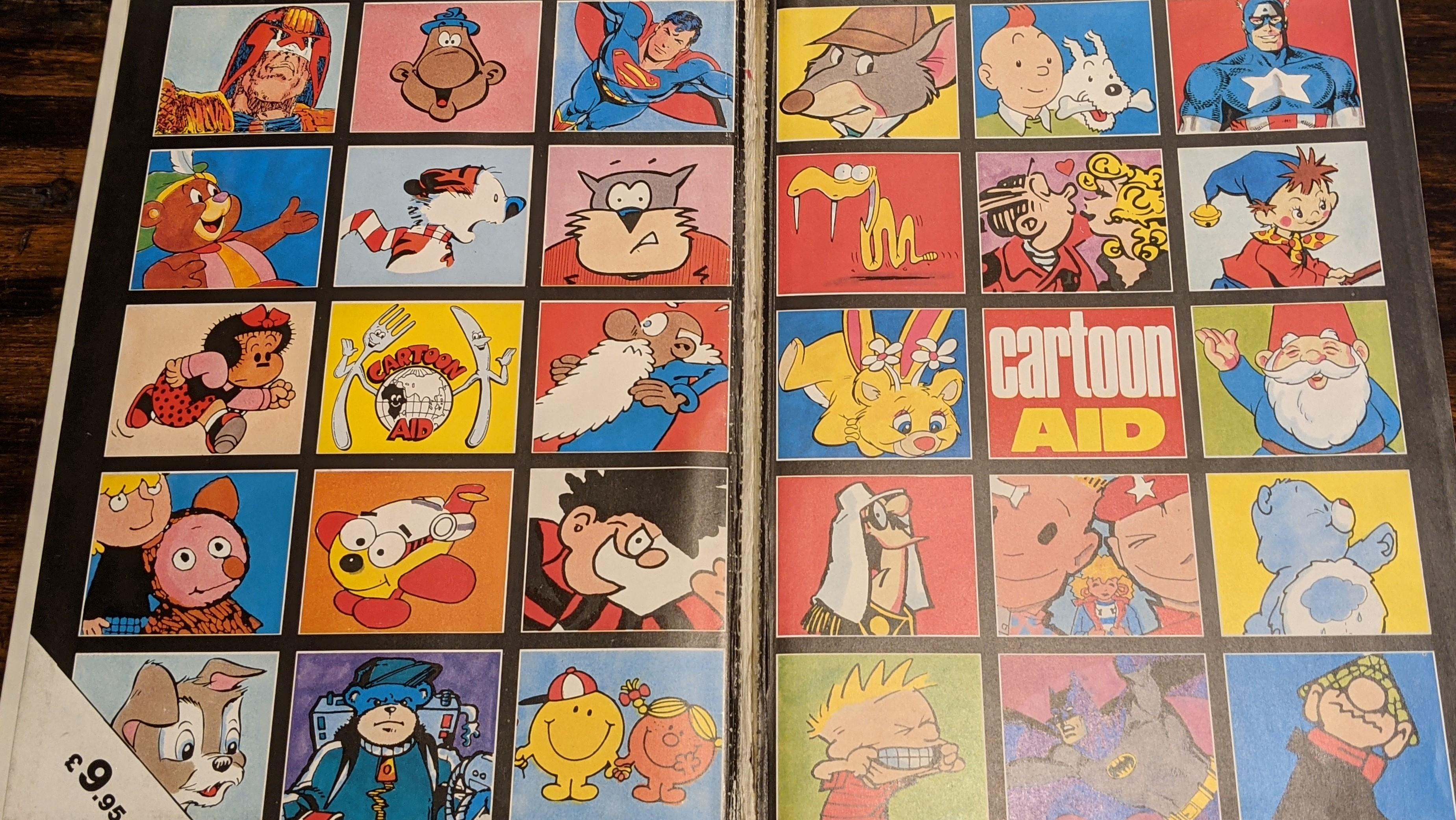 Cartoon Aid Inlay