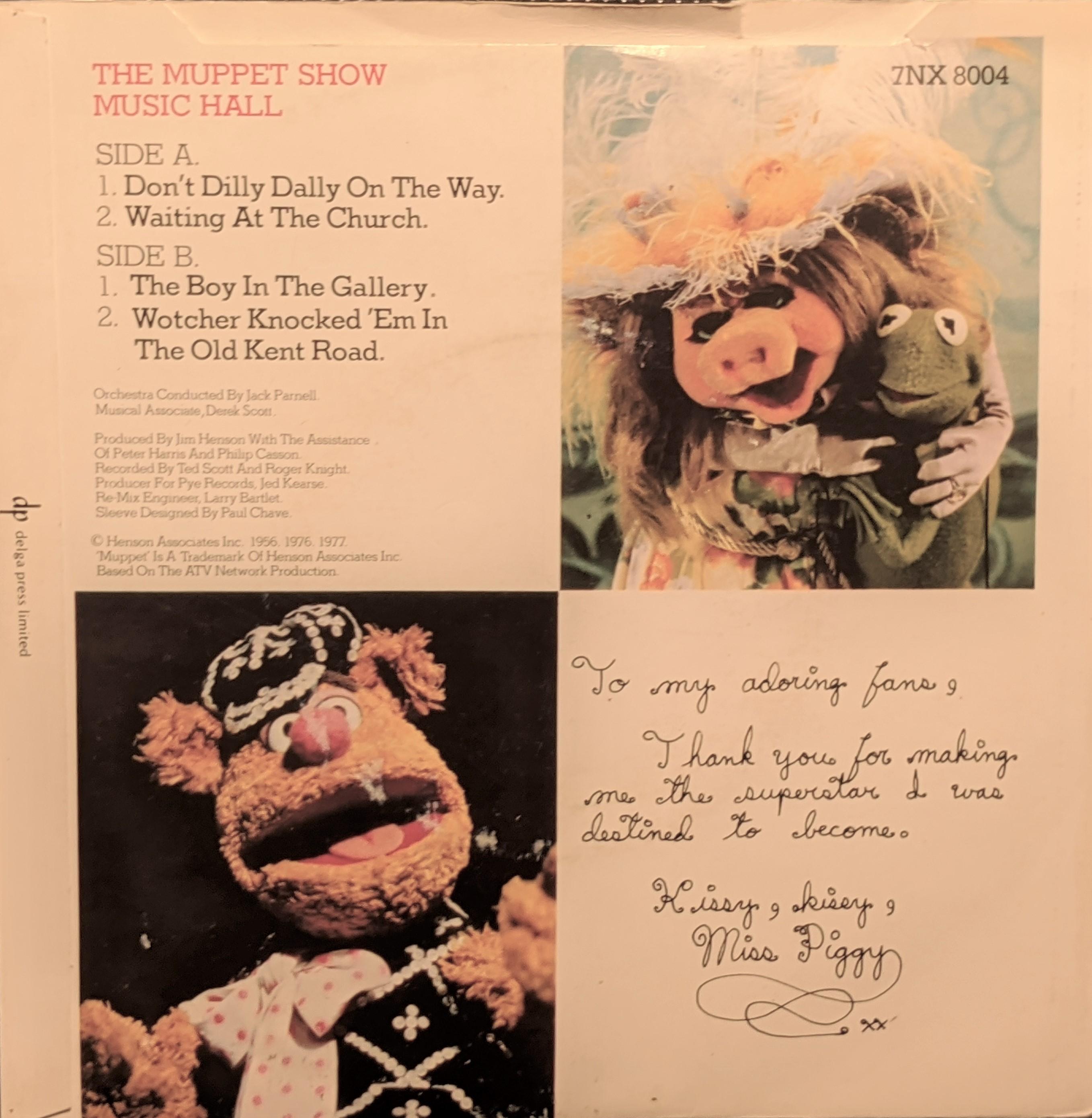 Muppets Single Back