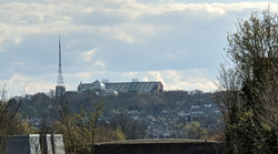 Ally Pally From A Distance