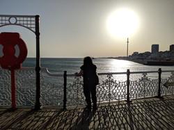 Sunset On the Pier