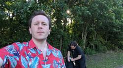 Paul and Eli fidling
