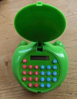 Calculator Rear