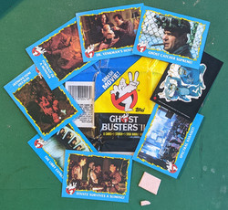 Ghostbusters 2 Topps Cards