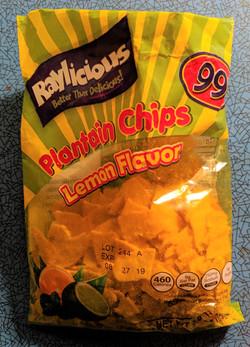 Lemon Plantain Chips