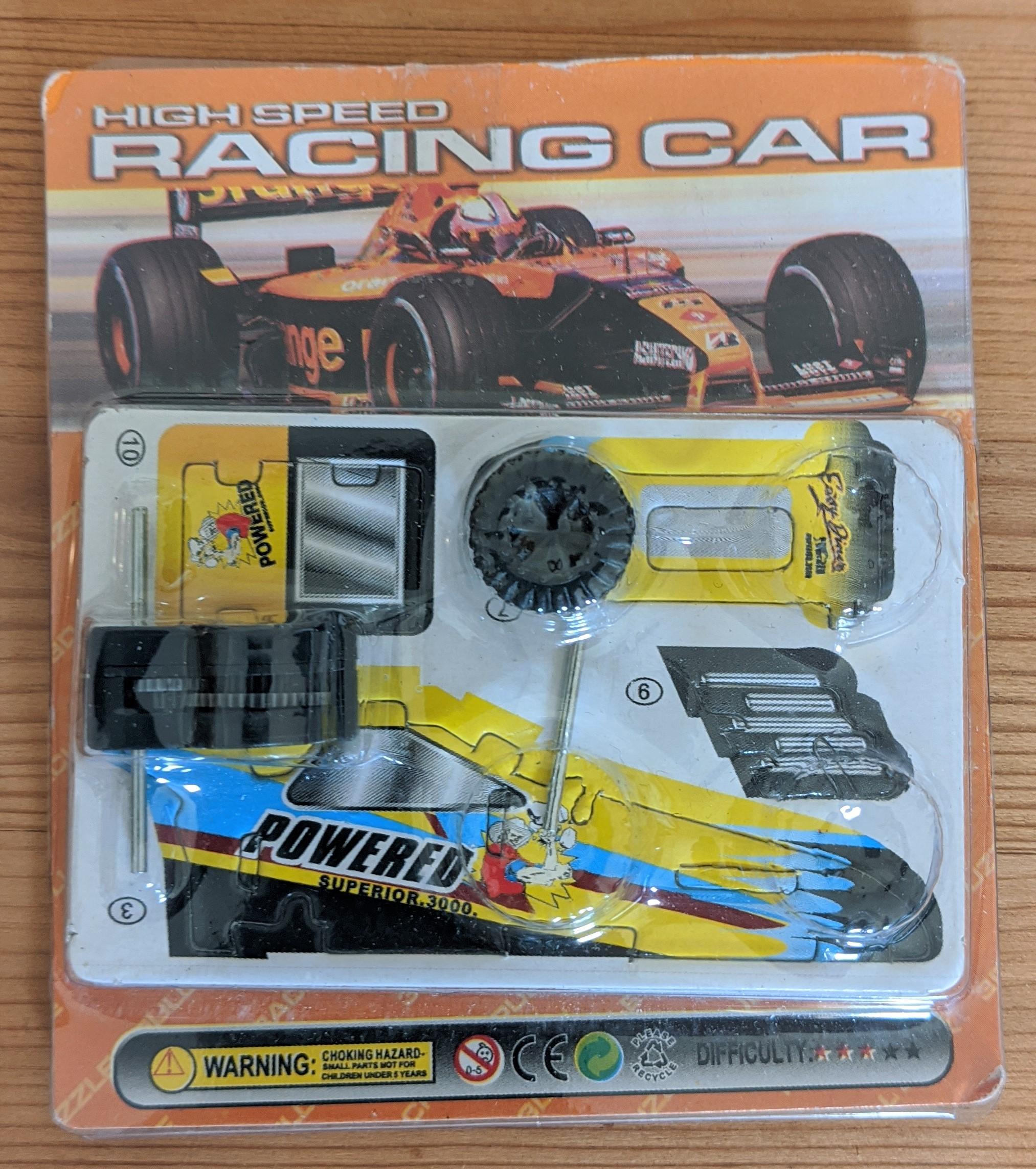 Racing Car Front