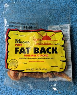 Fat Back Pork