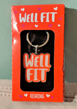 Well Fit Key Chain