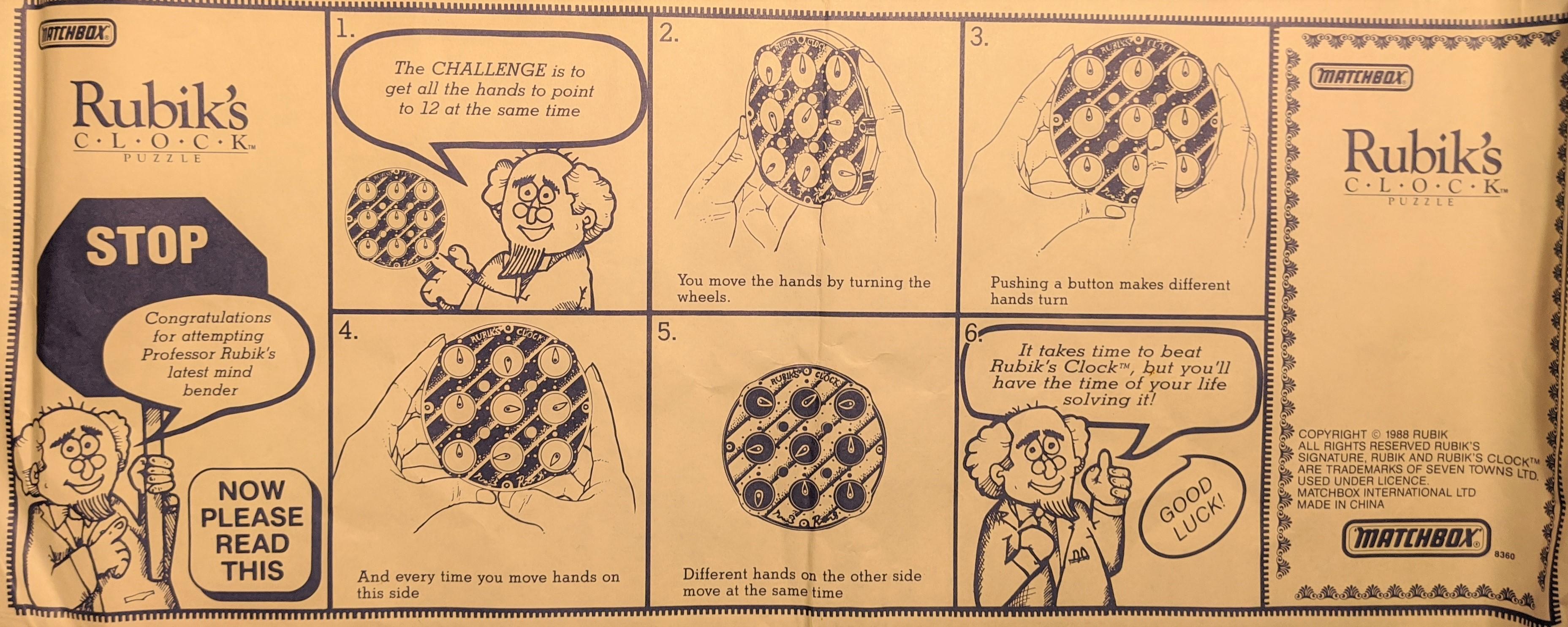 Rubik's Rules