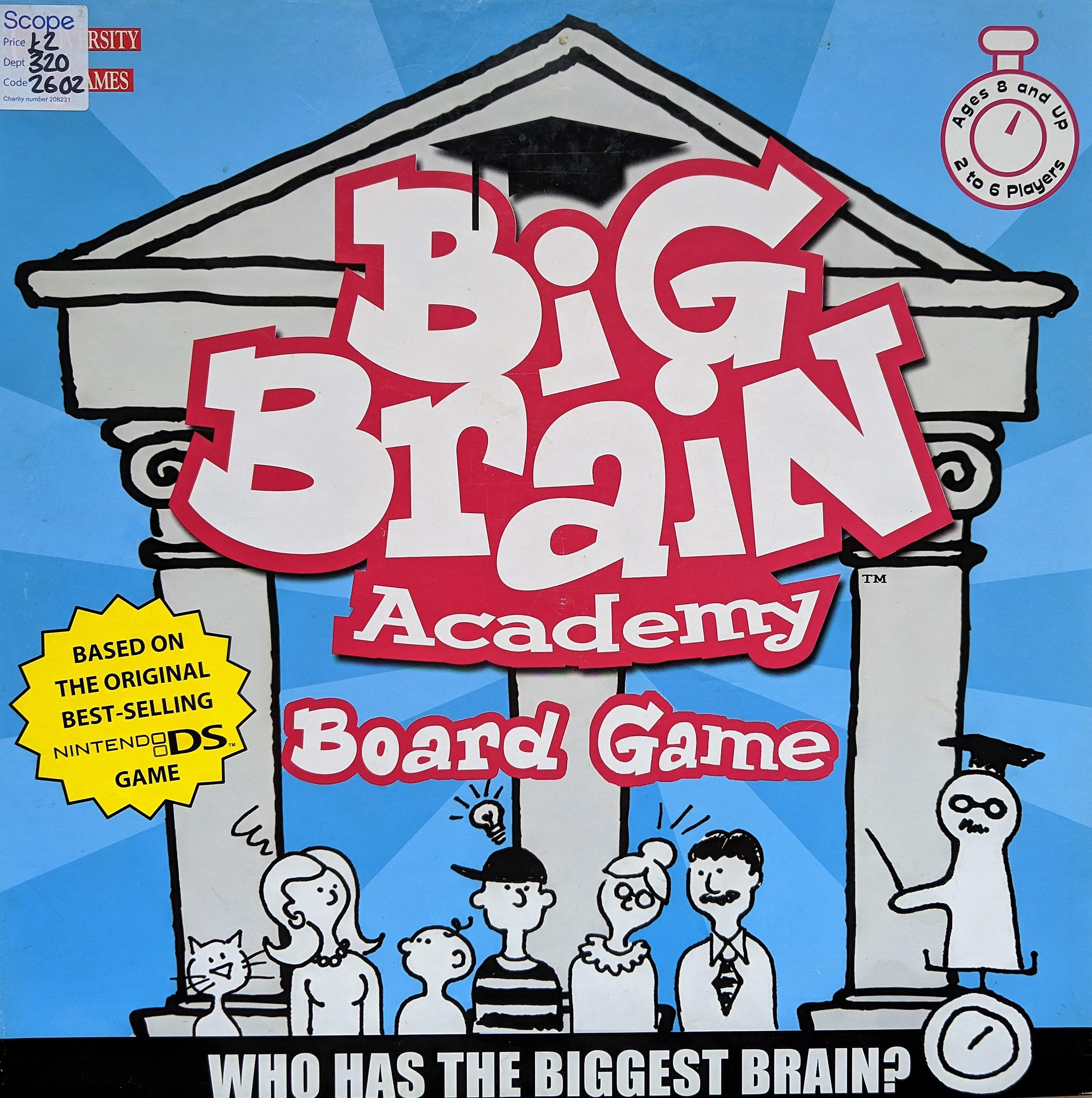 Big Brain Board Game