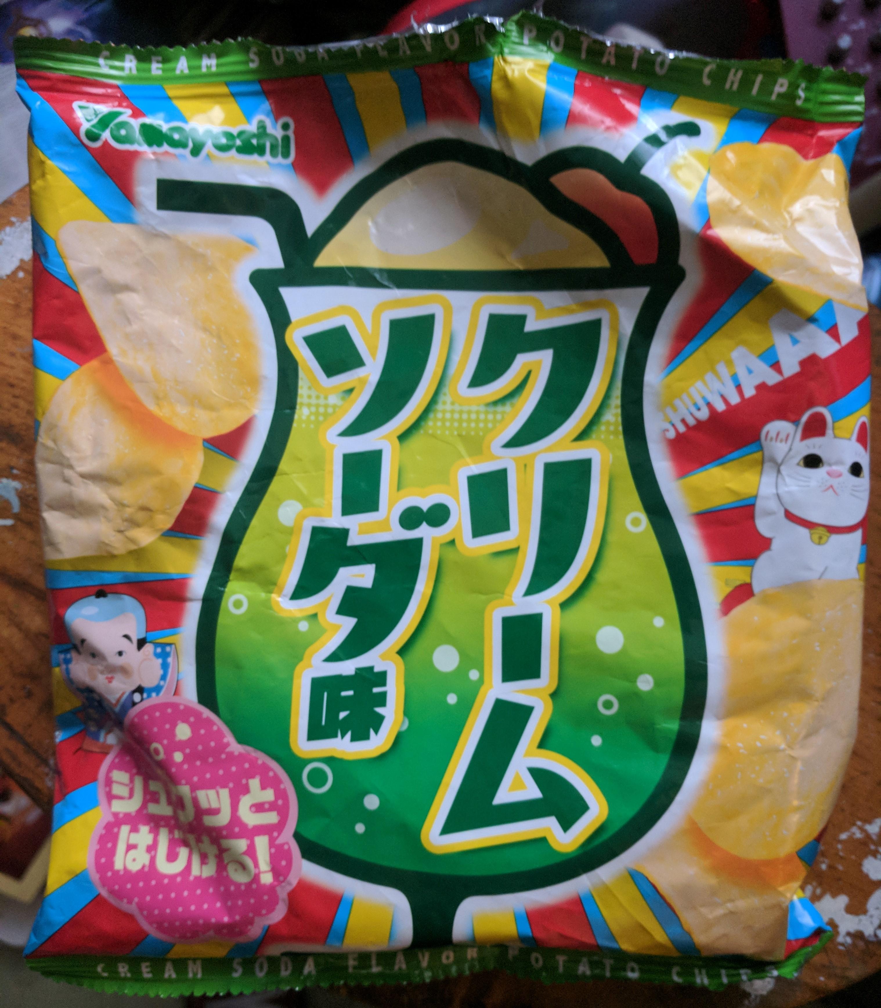 Melon Soda Crisps