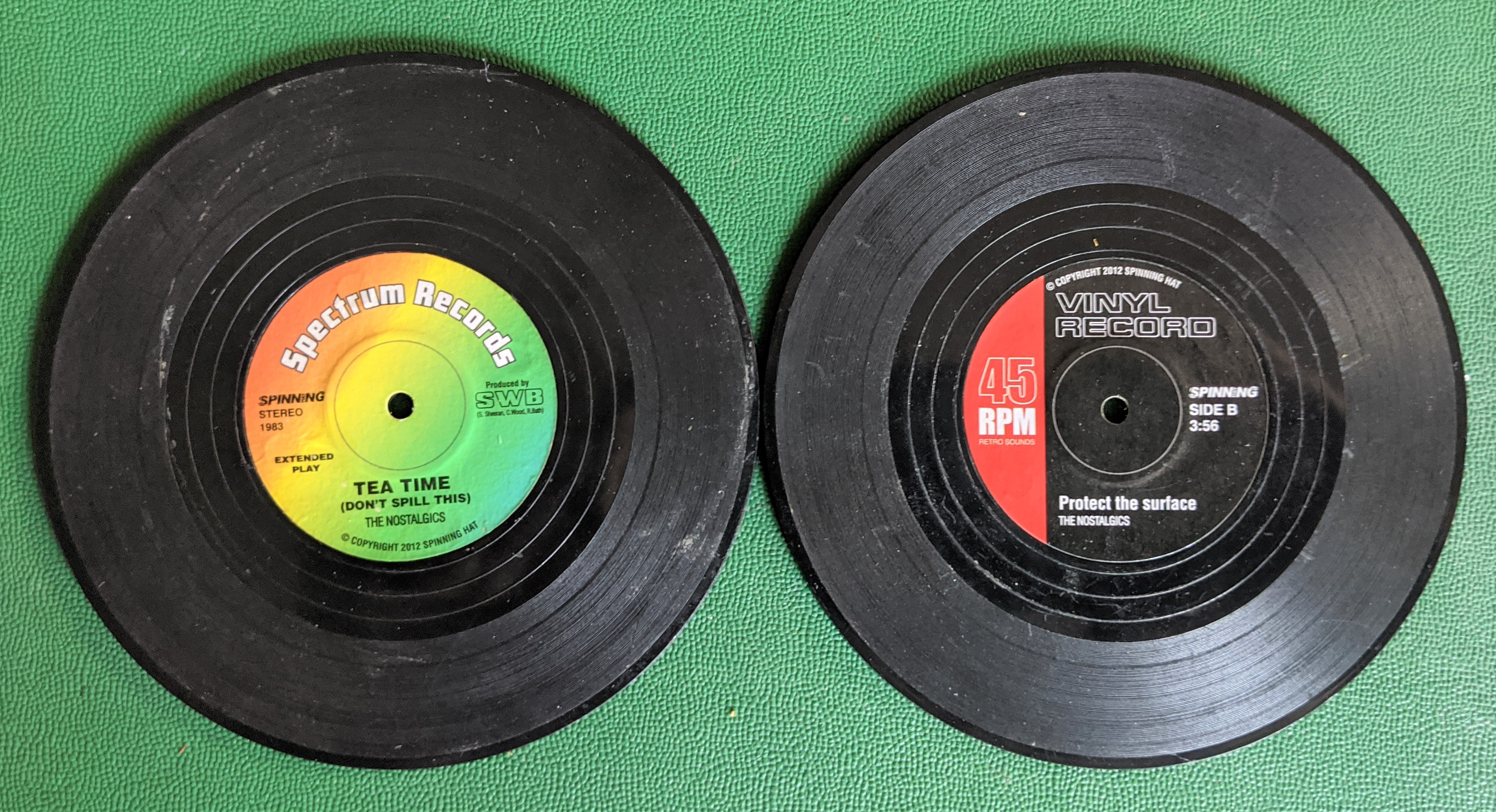 Record Vinyl Coasters