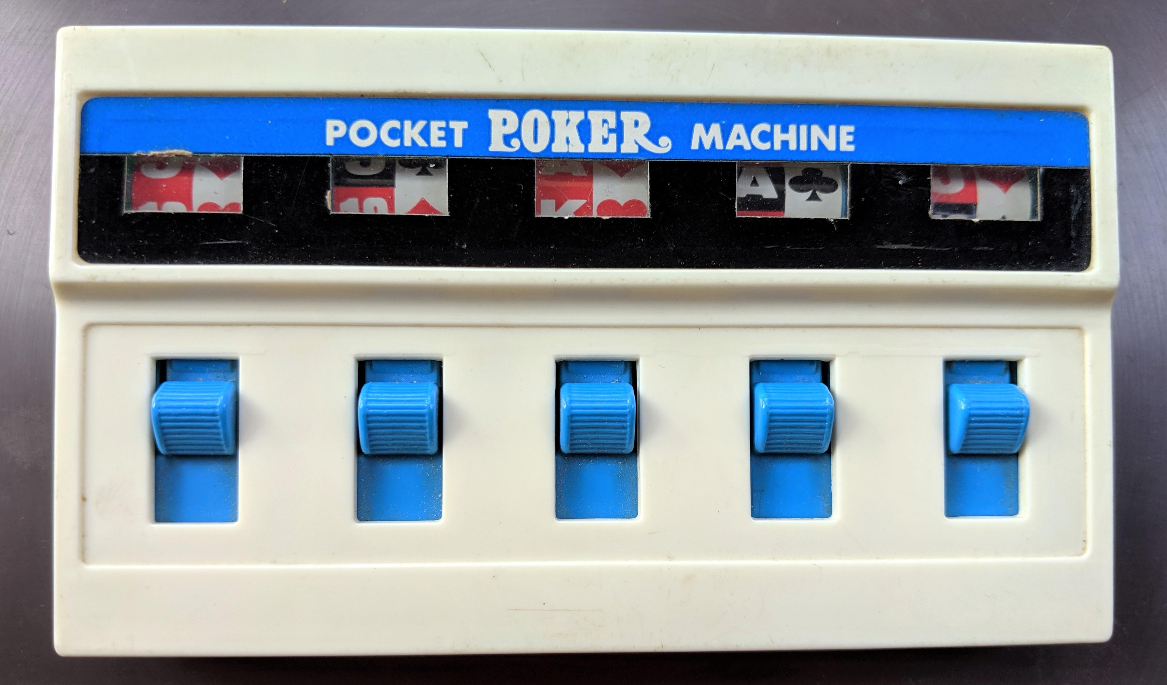 Tomy Pocket Poker Machine