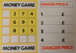 Danger Money Card