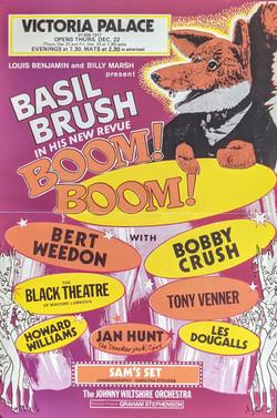 Panto Poster Basil Brush