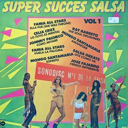 Super Succes Salsa Vinyl