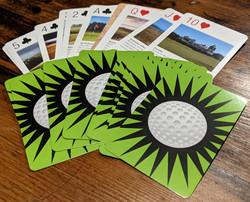 Golf Playing Cards 02