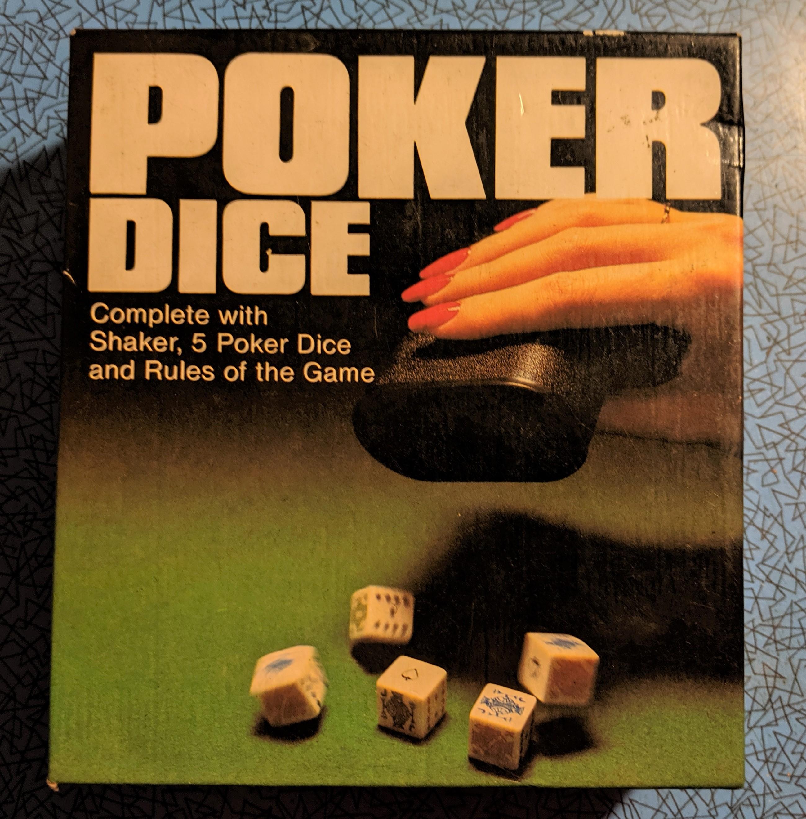 Poker Dice Box