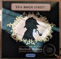 221b Baker Street Box