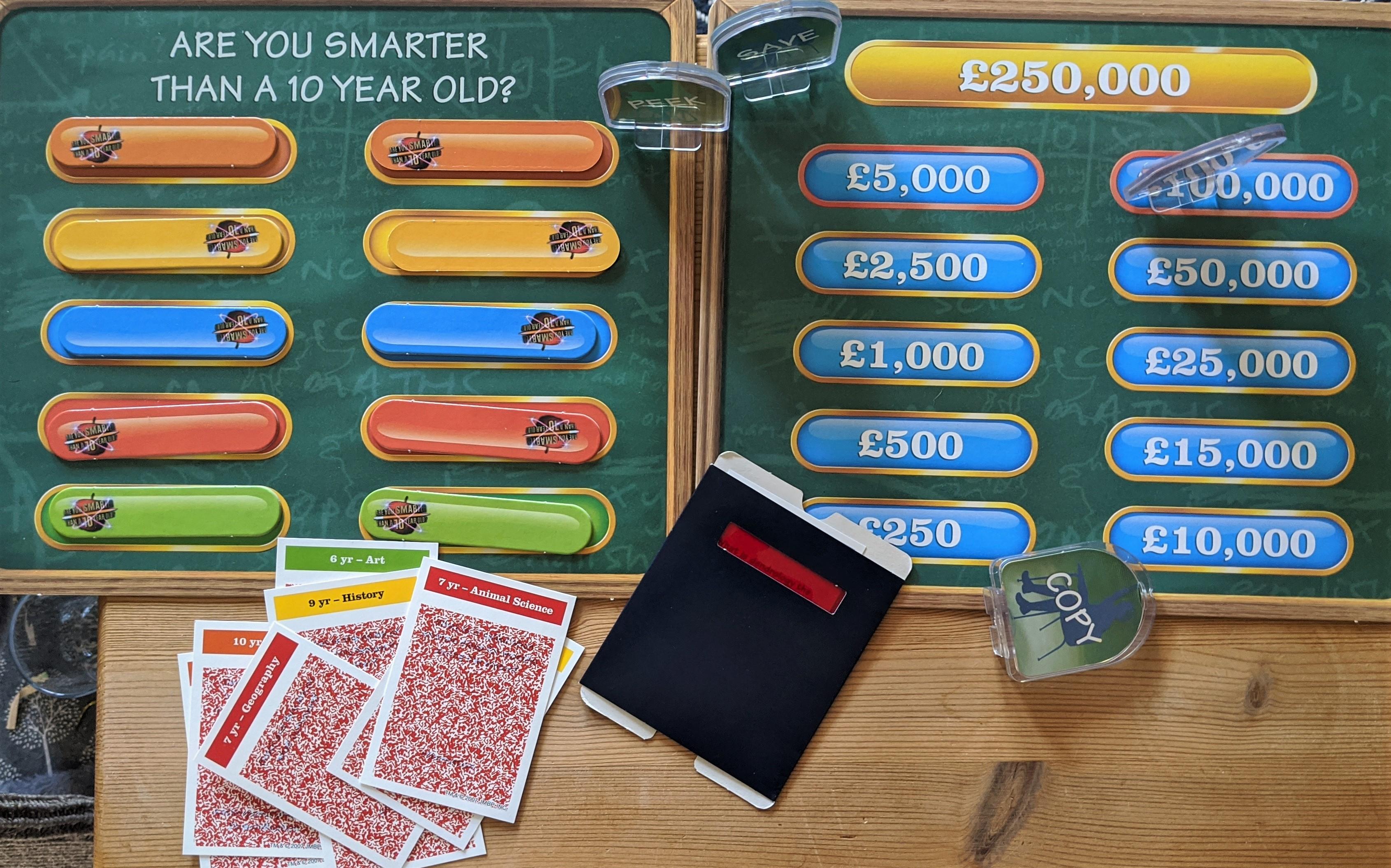 AYSTA10YO Board Game