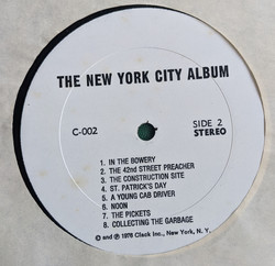 NYC Label Side 2