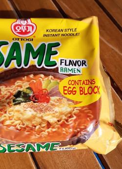 Egg Block Noodle