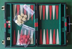 Inside the Backgammon Case