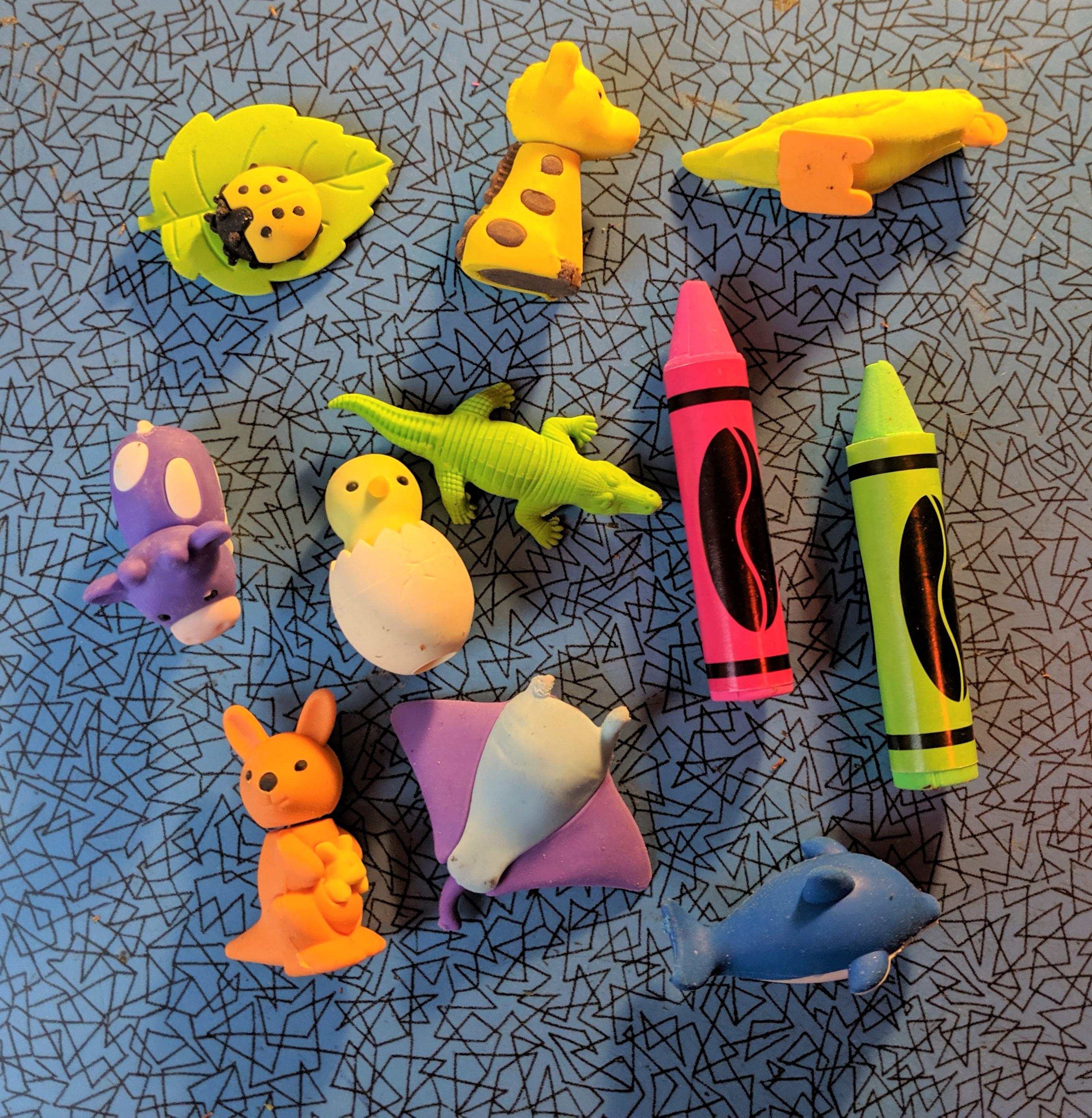 Many Erasers