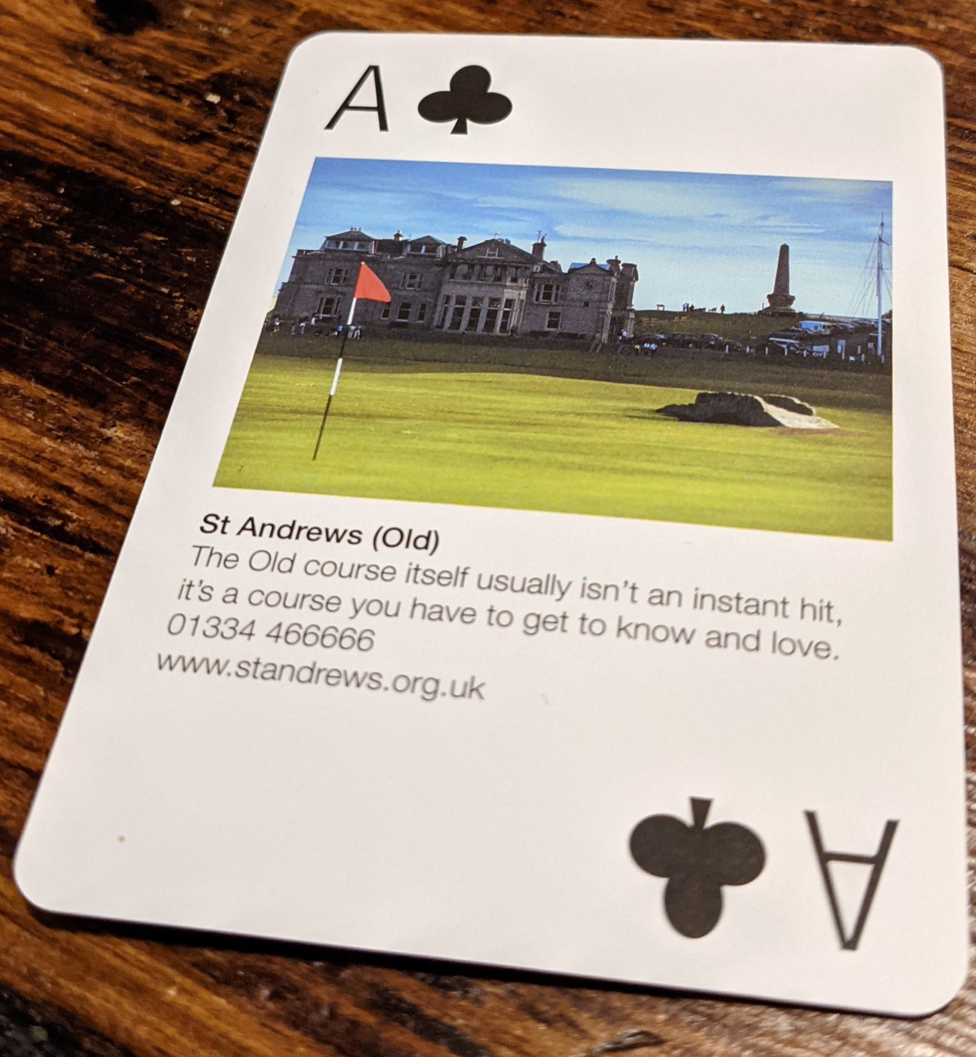 Golf Playing Cards 03