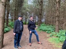 Stuart & Ryan looks for trees