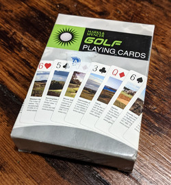 Golf Playing Cards 01