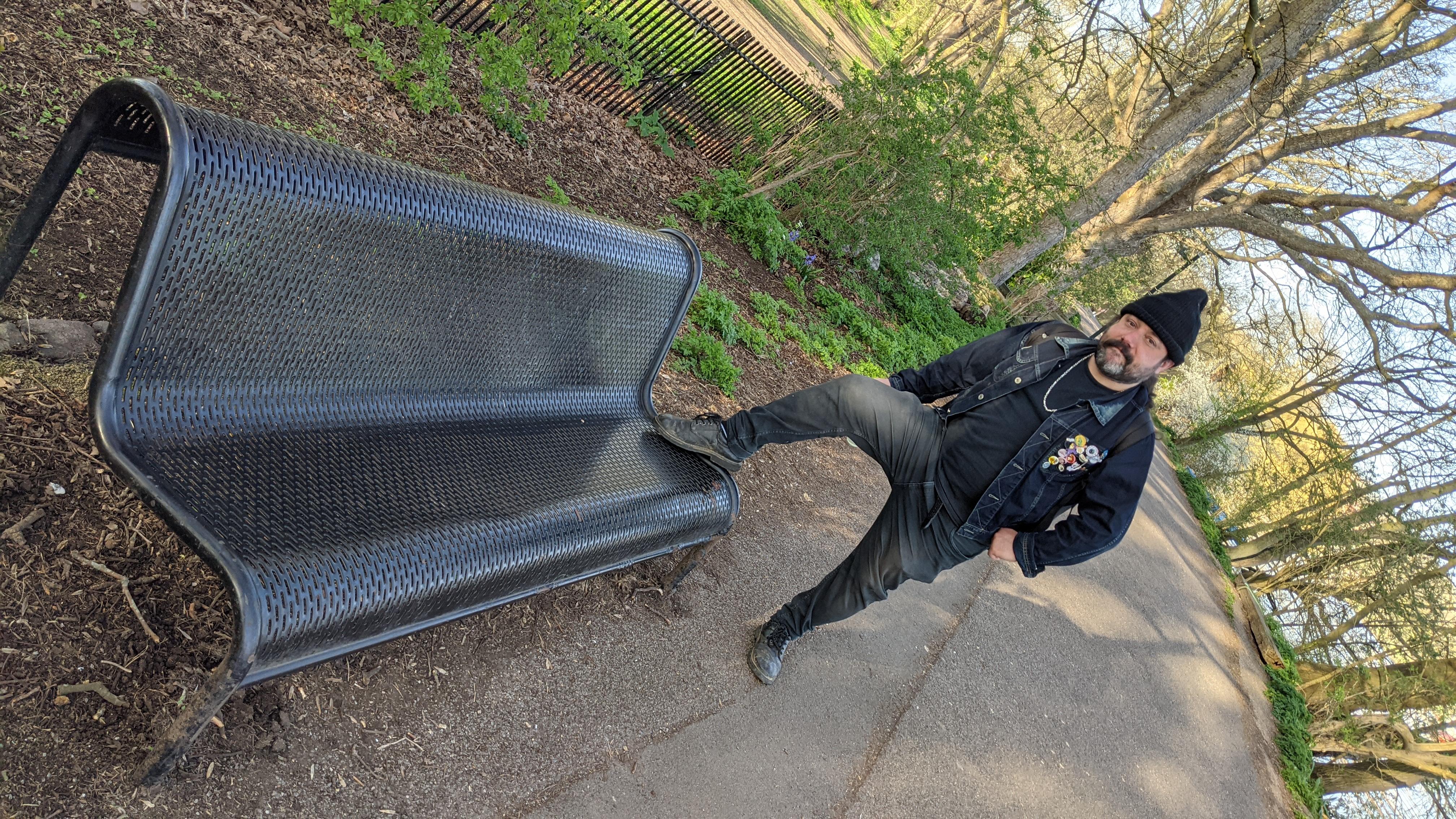 Macho Eli's Bench