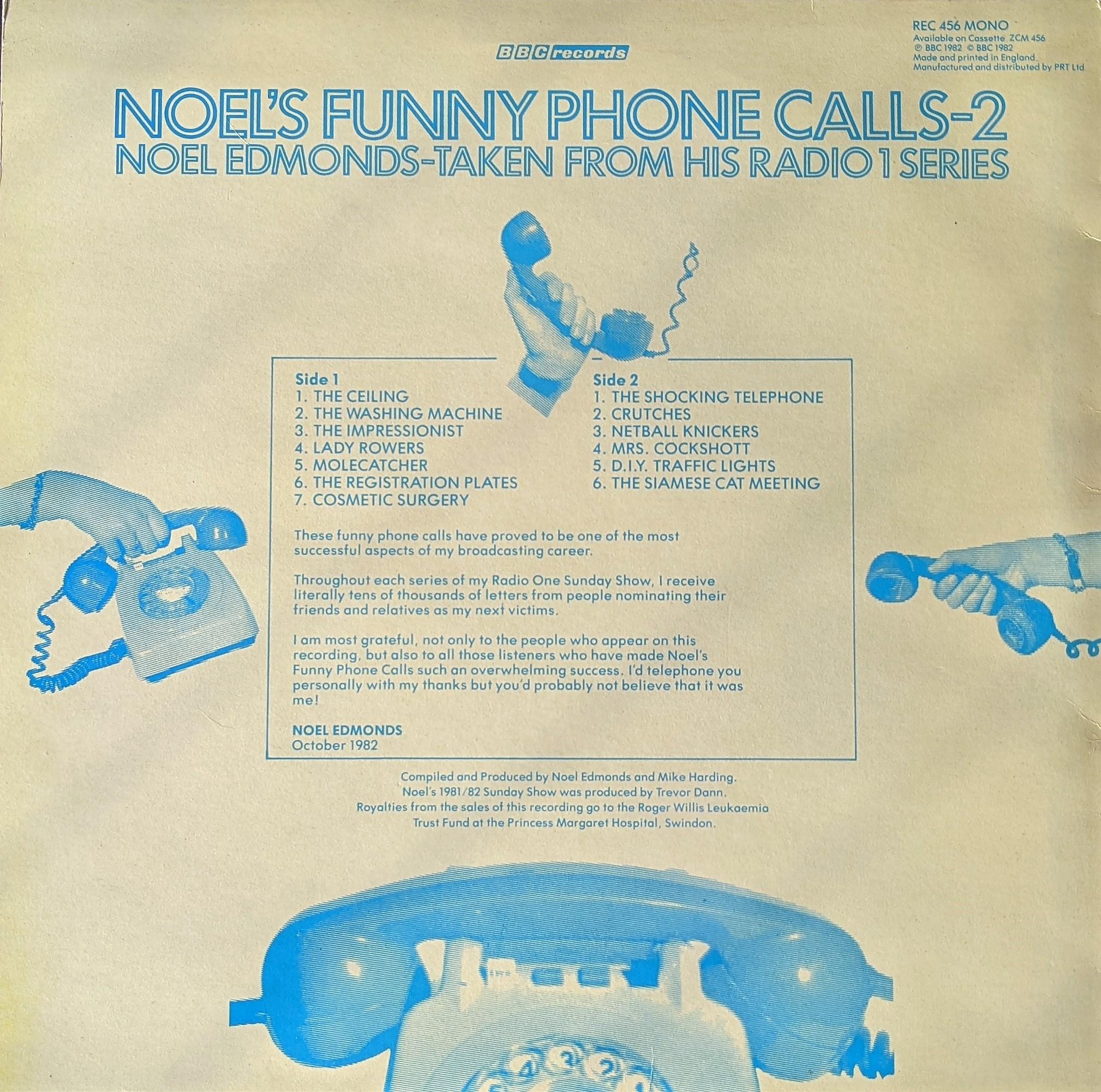 Noel's Phone Calls 2 Back