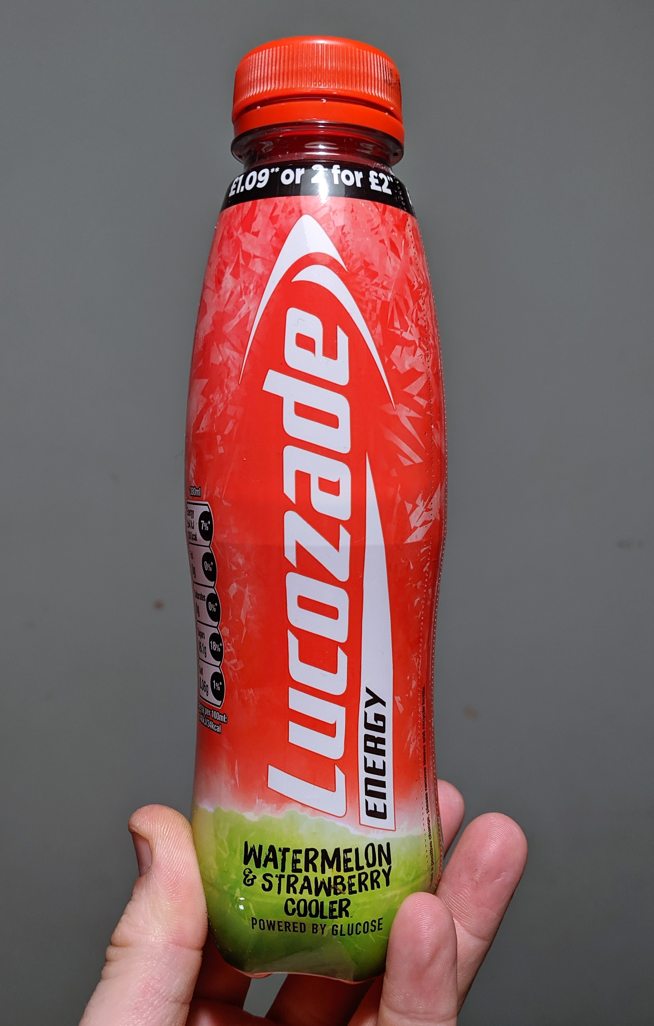 Watermelon Lucozade