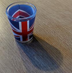 Union Flag Shot Glass