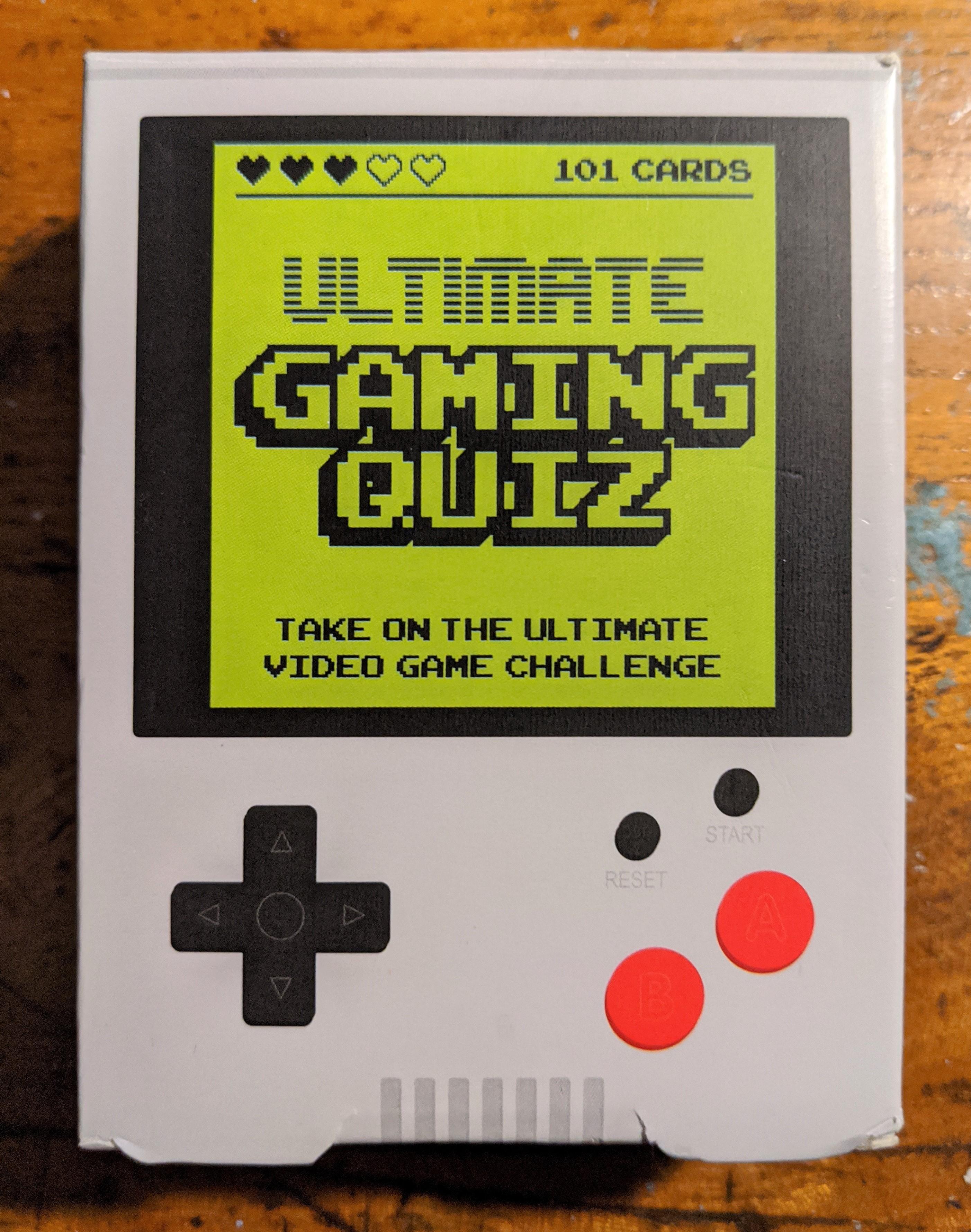 Gaming Quiz