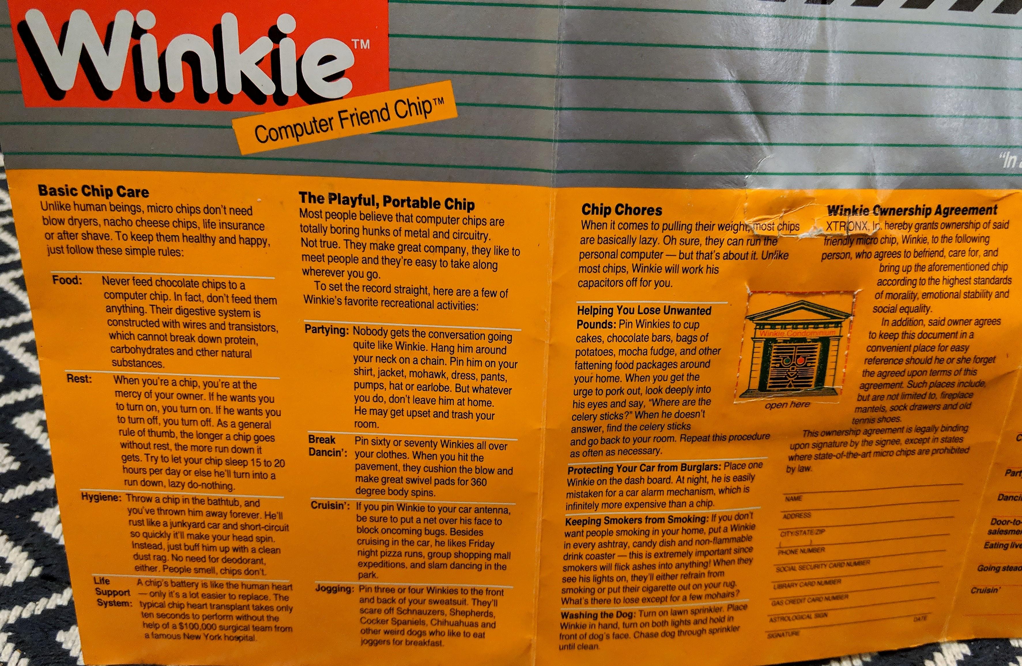 Winkie Pack 01