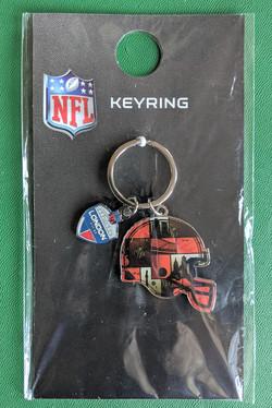NFL keyring
